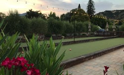 Bocce Courts with Palisade Hills